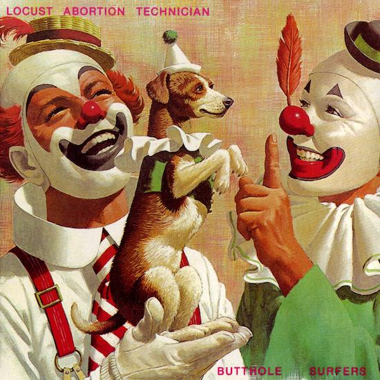 Butthole Surfers - Locust Abortion Techncian_cover