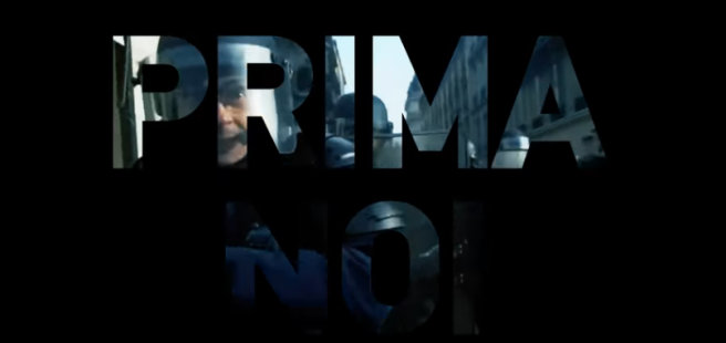 screenshot del video di Prima noi